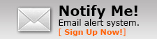 Button to Notify Me - Email Alert System
